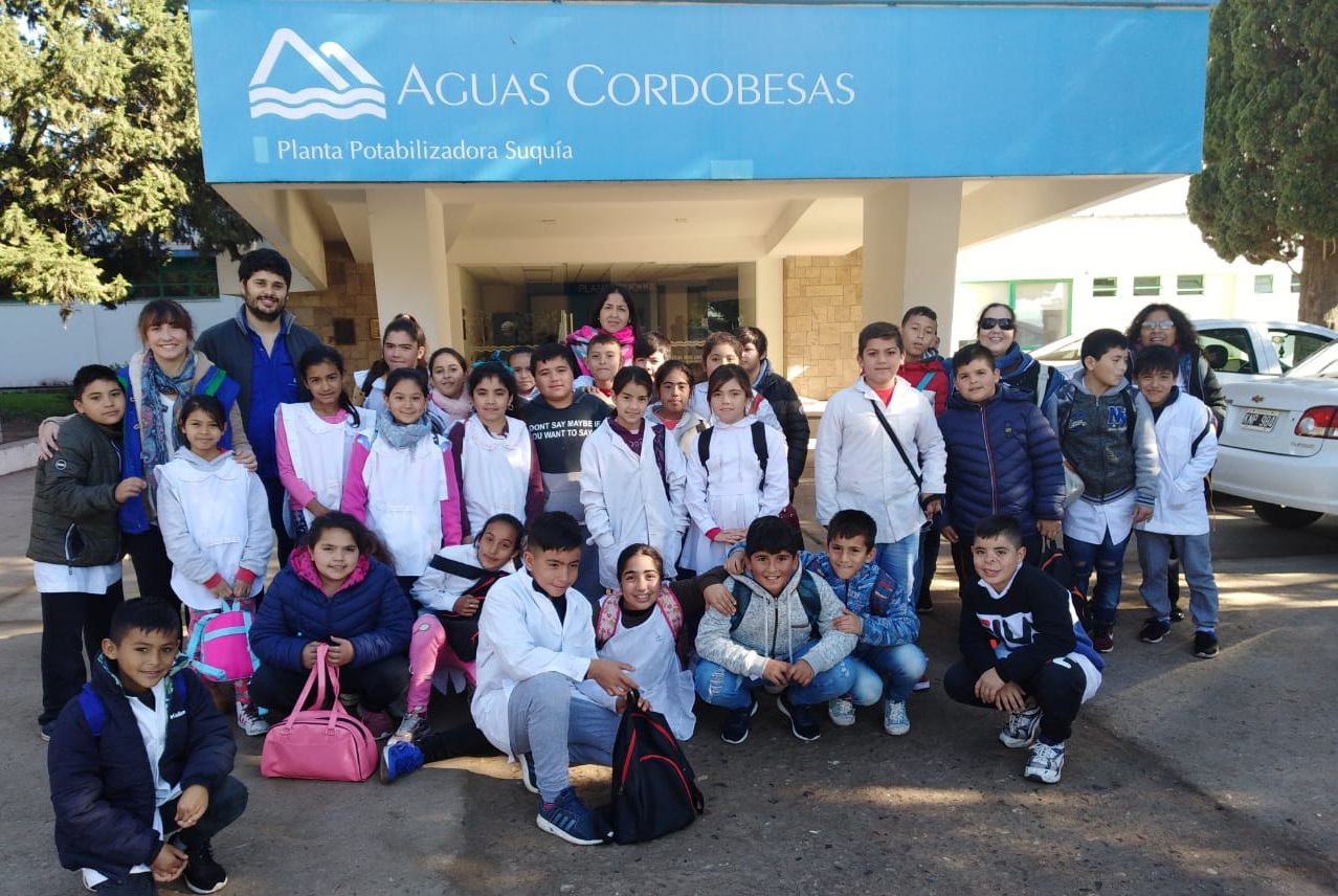 Los Embajadores del Agua 2019 comenzaron sus visitas a las Plantas