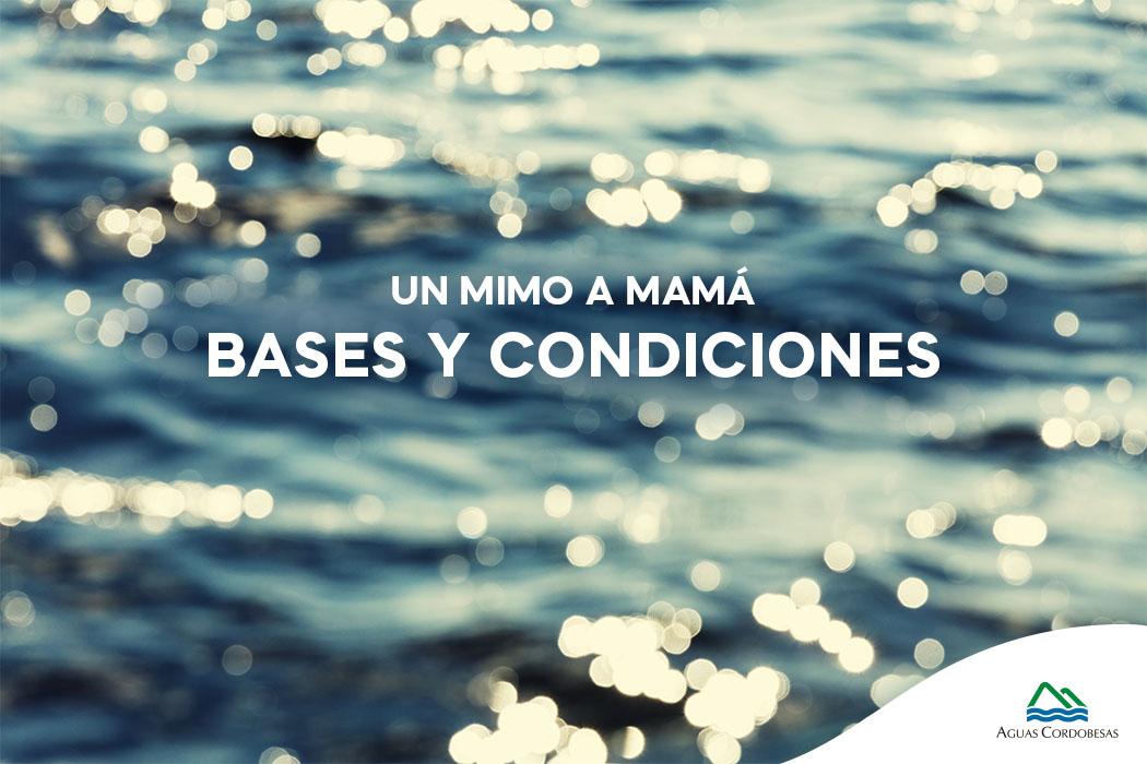 Bases y condiciones – Concurso